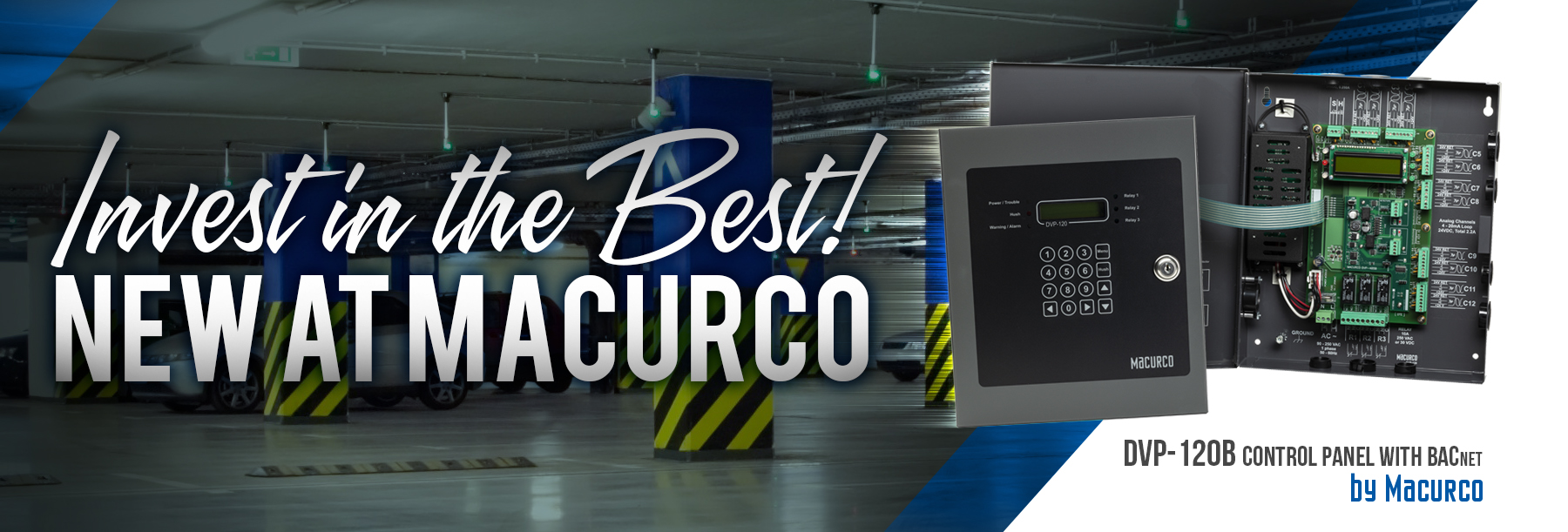 Macurco Unveils Newest Ventilation Panel With Bacnet